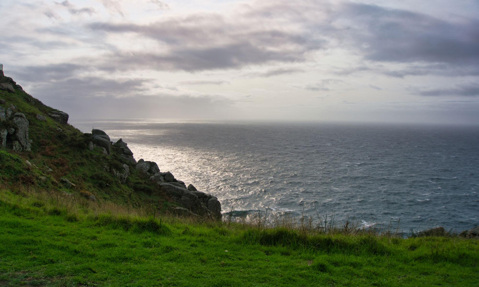 Атлантическия океан при Finisterre