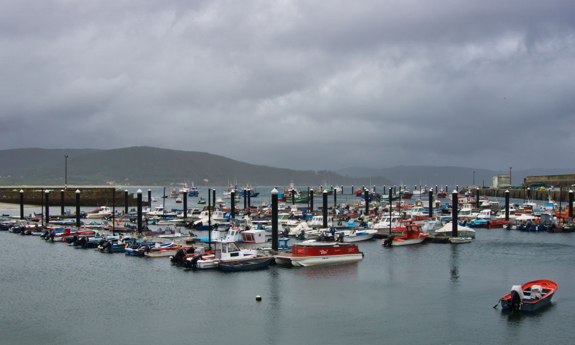 Пристанището във Финистере
