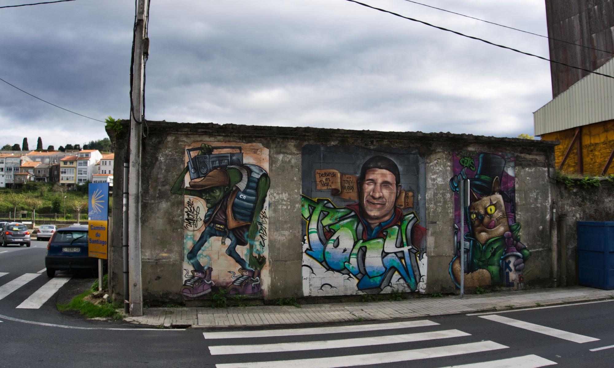 улично изкуство в Испания
