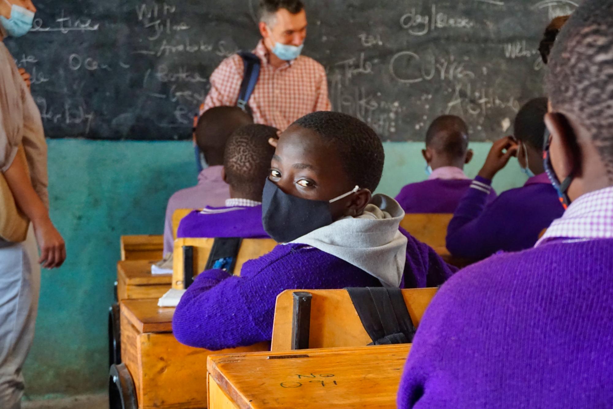 Soweto academy в Кибера
