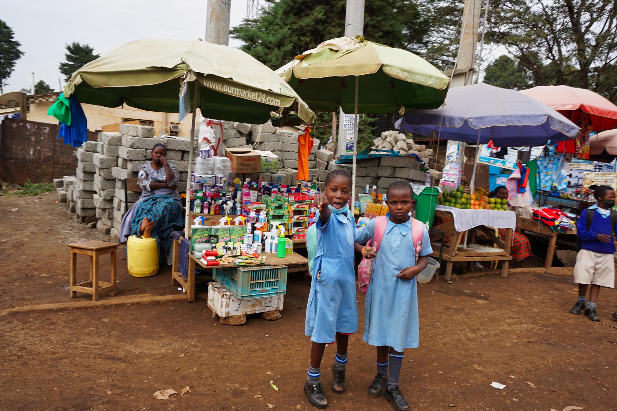 Деца в Кибера