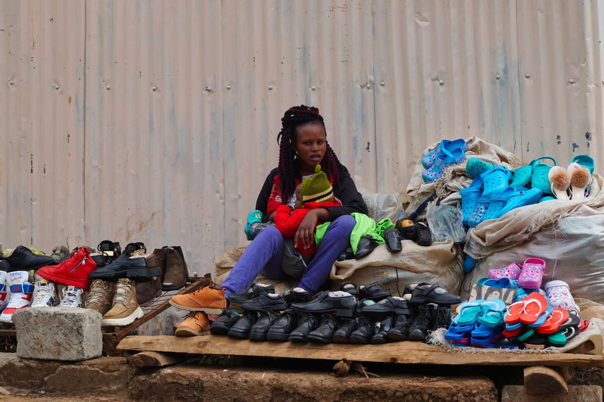 Майка в Кибера